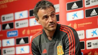 إنريكي يرحل عن تدريب إسبانيا لأسباب شخصية