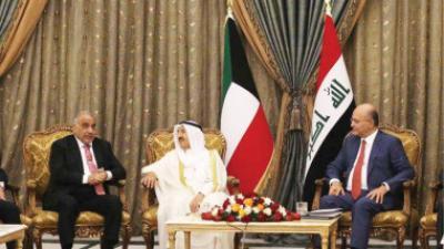 العراق والكويت يبحثان تعزيز التعاون الاقتصادي