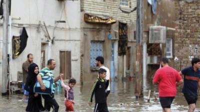 4751 عائلة تضررت جراء السيول والفيضانات وعبد المهدي يقرر تعويض جميع ضحاياها