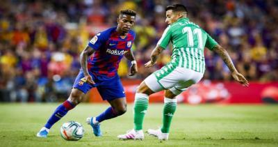 برشلونة يستعيد عافيته ويهزم بيتيس