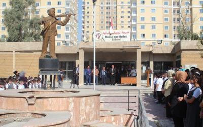 مدرسة بغداد للفنون الموسيقية والتعبيرية تفتتح عامها الدراسي الجديد