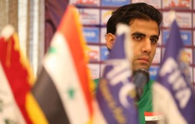 هداف الدوري الممتاز يعلق على استدعائه لصفوف اسود الرافدين