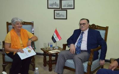 العلاقات الثقافية تستعد لإقامة مهرجان شعري ألماني فرنسي عراقي في بغداد