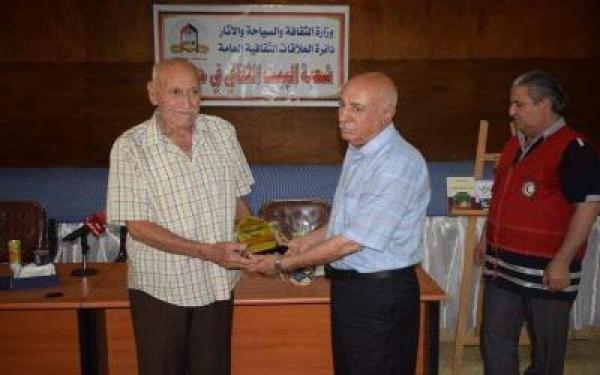 البيت الثقافي ينظم جلسة ثقافية للروائي راسم عبد القادر جلال مهدي