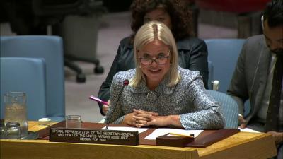 بلاسخارت في مجلس الأمن الدولي ضمن جلسة بعد غد الثلاثاء حول أوضاع العراق