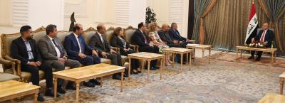 رئيس الجمهورية يؤكد اهمية اعتماد المهنية والحيادية في الاعلام العراقي