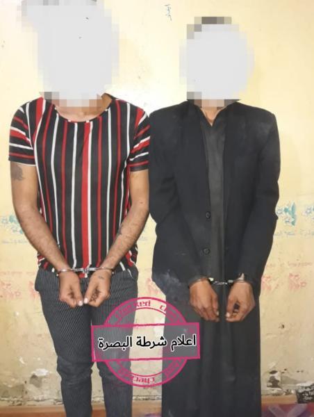 شرطة البصرة :  مفارز مركز شرطة الامام الصادق عليه السلام تتمكن من كشف جريمة قتل غامضة خلال ساعات من ارتكابها
