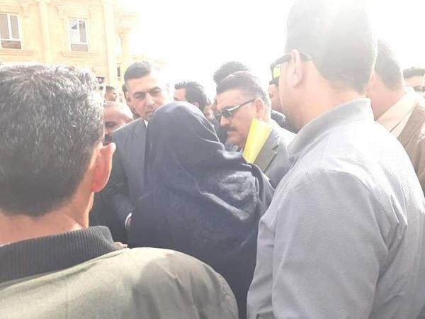 وجهاً لوجه  ..  محافظ  البصرة يلتقي المواطنين ويوجه بمتابعة تنفيذ طلباتهم .