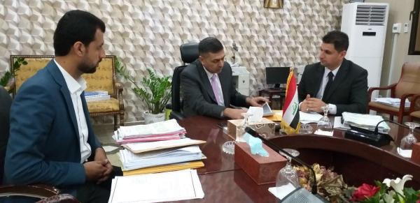 العيداني يعلن قرب صرف رواتب المعلمين والمدرسين المتعاقدين مع ديوان محافظة البصرة