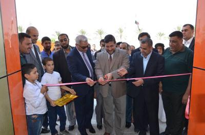 نائب محافظ البصرة الدكتور ضرغام الاجودي يفتتح مدرسة البدران الابتدائية للبنين