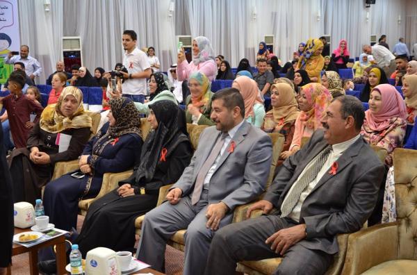 الاجودي : يحضر احتفالية اليوم العالمي لمرض الهيموفيليا