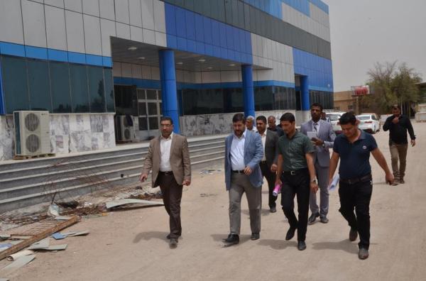 الاجودي: يتفقد مشروع انشاء مبنى للنسائية والتوليد في مستشفى الفيحاء العام