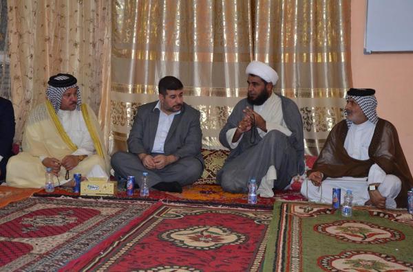 نائب محافظ البصرة يزور منطقة محلة الهادي الاولى في قضاء الزبير.