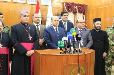 الدكتور النصراوي يعلن استعداد محافظة البصرة لاستقبال النازحين المسيحيين من المناطق الساخنة