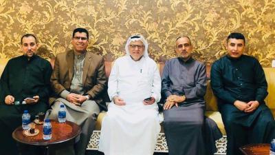 ..زيارة الاستاذ الفاضل سعد شريف لناحية سفوان