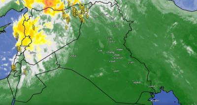 تطورات حالة الطقس المتوقعة ليوم الاحد