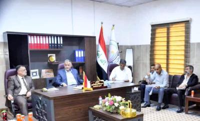 معاون محافظ البصرة يؤكد إرسال كشوفات 29 ألف دونم من الأراضيّ المتضررة جراء السيول إلى رئاسة الوزراء