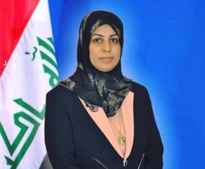 عضو مجلس محافظة البصرة بسمة السلمي المهندس اسعد العيداني لم يتجاوز على القانون