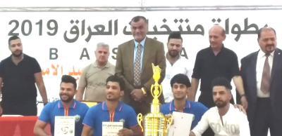 برعاية محافظ البصرة اختتام فعاليات بطولة العراق للبلياردو ، والبصرة تحرز المركز الاول
