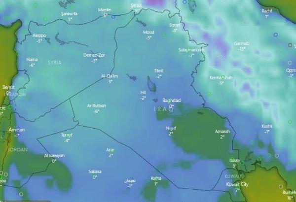 تطورات حالة الطقس