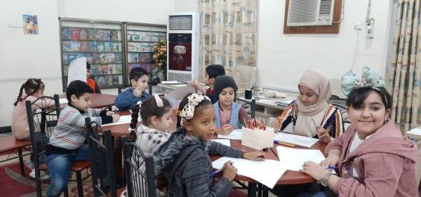 تقيمها ..المكتبة المركزية العامة ، برامج وفعاليات ثقافية  وترفيهية.. لطلبة وتلاميذ المدارس