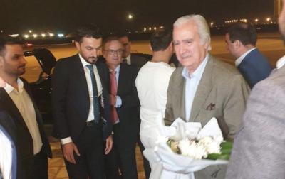 بالصورة.. وصول وفد نادي ريال مدريد الى بغداد