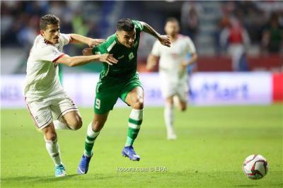العراق وإيران يتعادلان في ختام مباريات الفريقين بالمجموعة الرابعة ببطولة كأس أمم أسيا