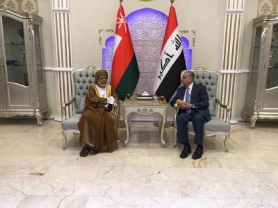 وزير خارجية عُمان يصل الى بغداد