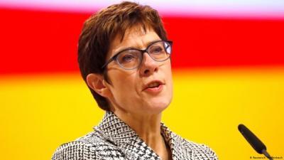 وزيرة الدفاع الالمانية تصل الى اربيل