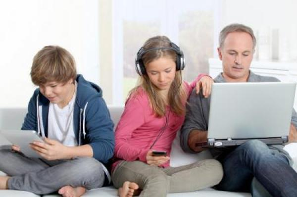 Image result for people addicted to technology
